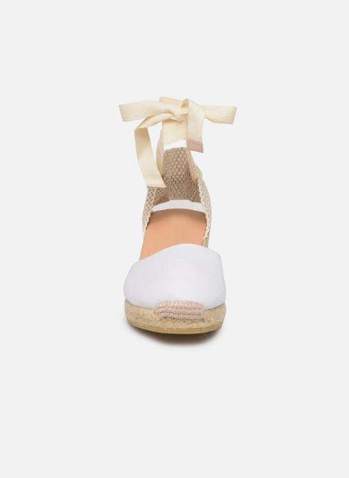 Espadrilles L.K. Bennett Maureene Blanc vue portées chaussures