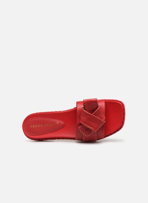 Zuecos Bruno Premi BW0101P Rojo vista lateral izquierda