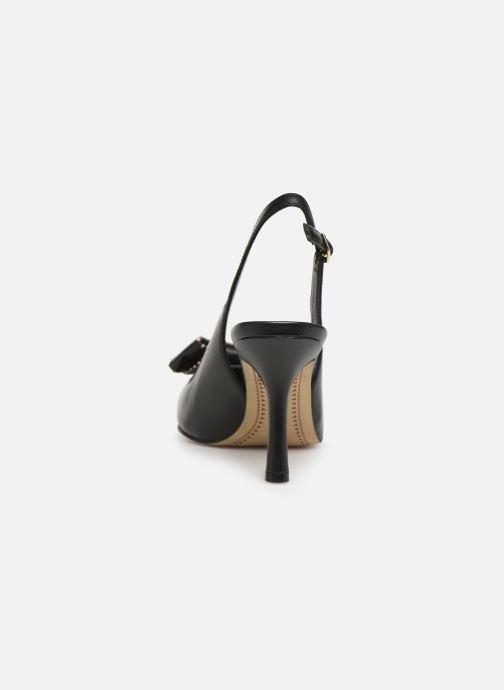Zapatos de tacón Bruno Premi BW4603X Negro vista lateral derecha
