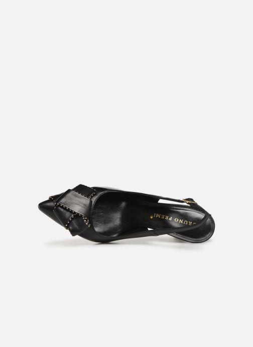 Zapatos de tacón Bruno Premi BW4603X Negro vista lateral izquierda