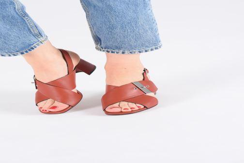 Sandali e scarpe aperte Bruno Premi BW0702N Rosso immagine dal basso