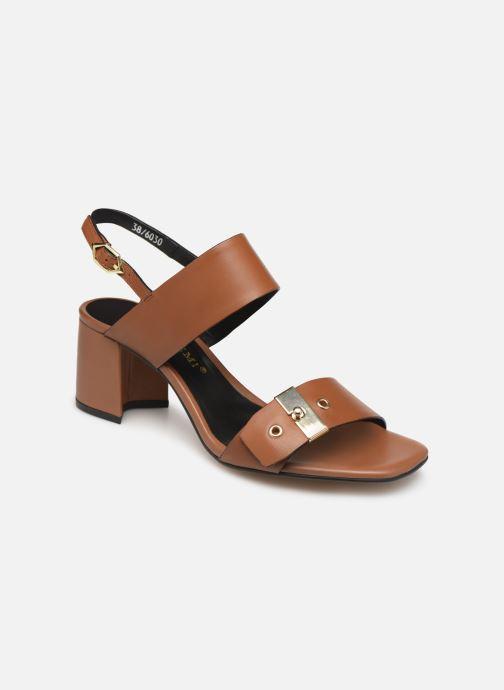 Sandales et nu-pieds Bruno Premi BW0701P Marron vue détail/paire