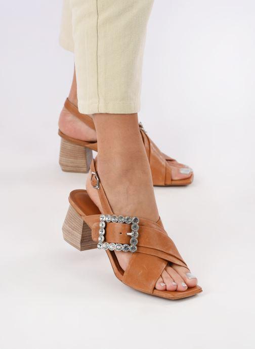Sandali e scarpe aperte Bruno Premi BW3106X Marrone immagine dal basso
