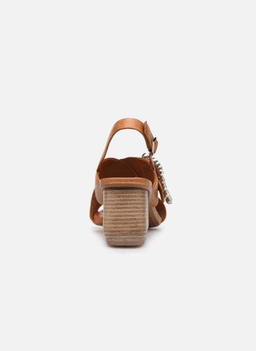 Sandali e scarpe aperte Bruno Premi BW3106X Marrone immagine destra
