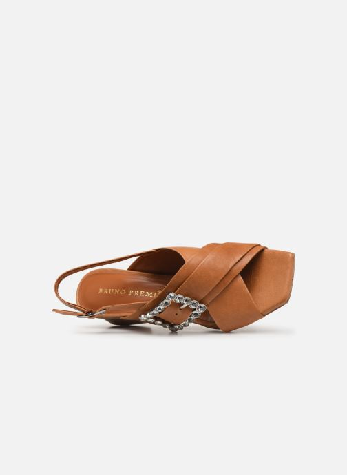 Sandali e scarpe aperte Bruno Premi BW3106X Marrone immagine sinistra