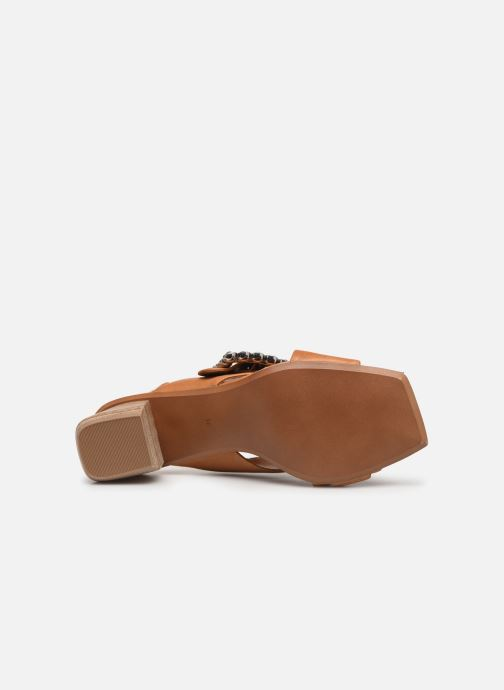 Sandales et nu-pieds Bruno Premi BW3106X Marron vue haut