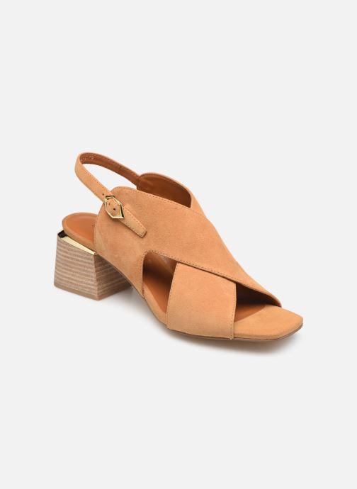 Sandaler Bruno Premi BW1103P Brun detaljeret billede af skoene