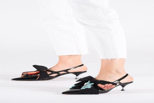 Zapatos de tacón Bruno Premi BW4404N Negro vista de abajo
