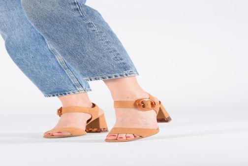Sandali e scarpe aperte Bruno Premi BW2202X Marrone immagine dal basso