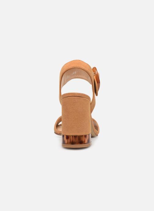 Sandali e scarpe aperte Bruno Premi BW2202X Marrone immagine destra