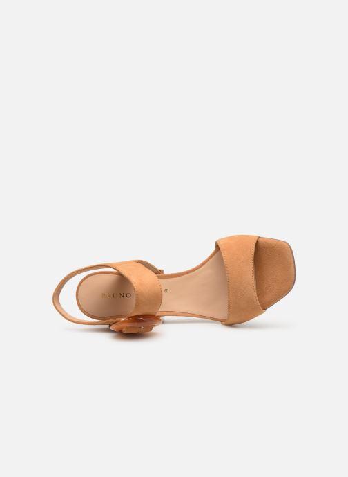Sandali e scarpe aperte Bruno Premi BW2202X Marrone immagine sinistra