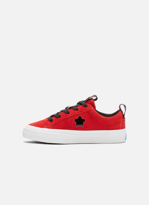 Baskets Converse Converse x Hello Kitty - One Star Ox Rouge vue face
