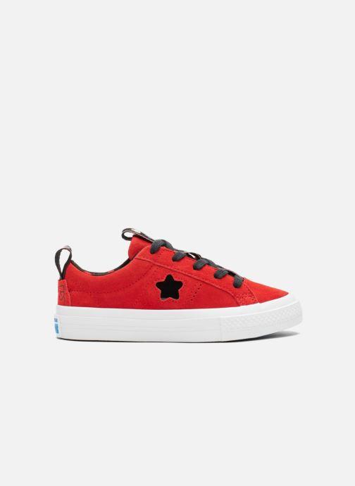 29d376d548e Sneakers Converse Converse x Hello Kitty - One Star Ox Röd detaljerad bild  på paret