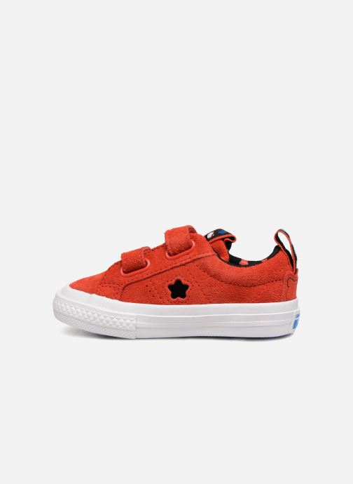 Baskets Converse Converse x Hello Kitty - One Star 2V Ox Rouge vue face