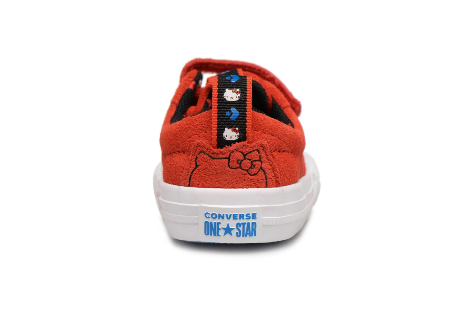 Baskets Converse Converse x Hello Kitty - One Star 2V Ox Rouge vue droite