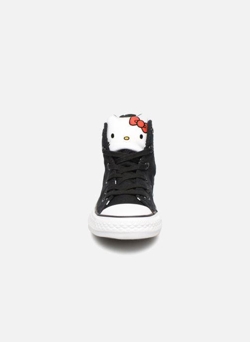 Baskets Converse Converse x Hello Kitty - Ctas Hi K Noir vue portées chaussures