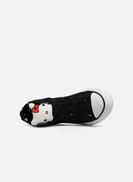 Baskets Converse Converse x Hello Kitty - Ctas Hi K Noir vue gauche