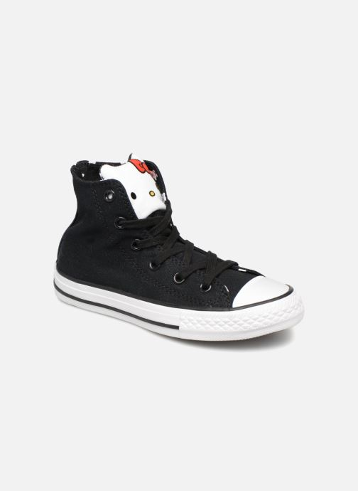 Baskets Converse Converse x Hello Kitty - Ctas Hi K Noir vue détail/paire