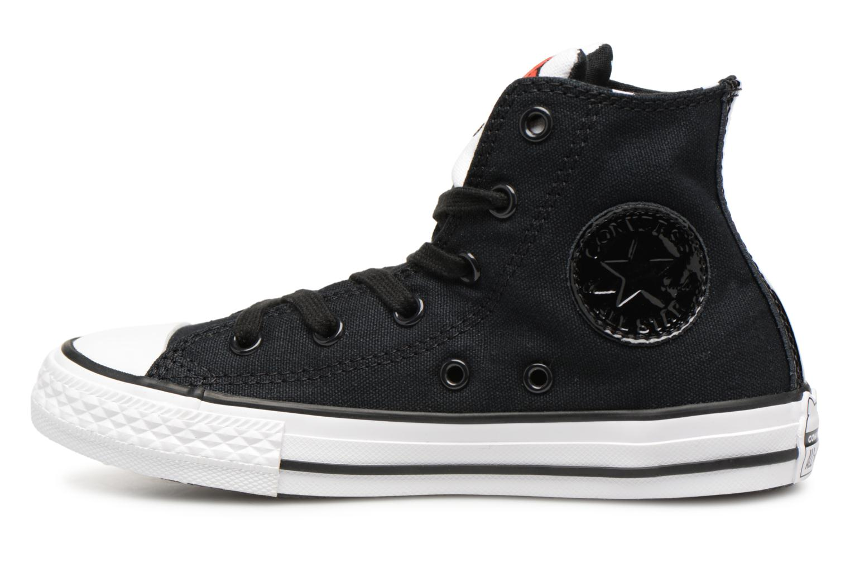 Baskets Converse Converse x Hello Kitty - Ctas Hi K Noir vue face