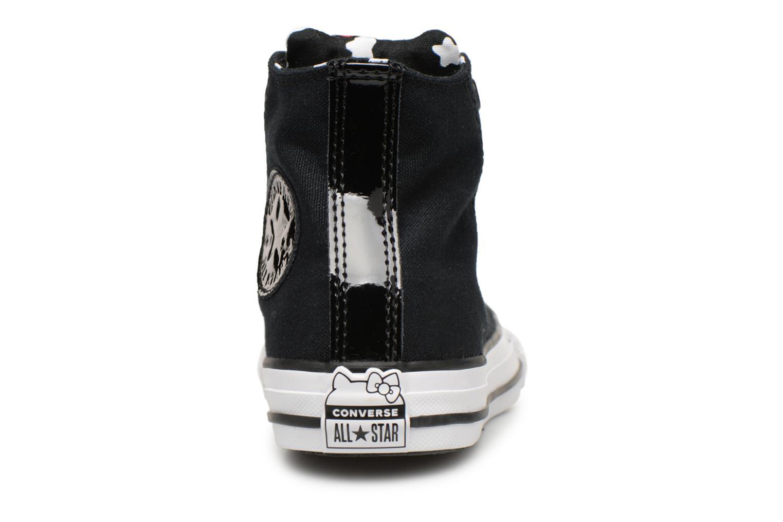 Baskets Converse Converse x Hello Kitty - Ctas Hi K Noir vue droite