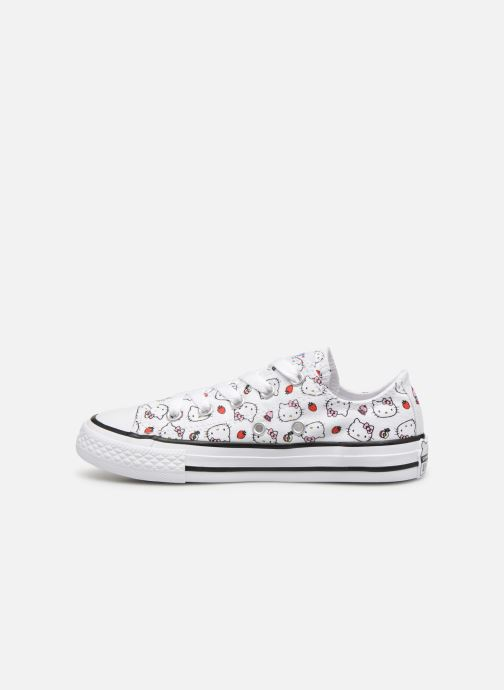 Baskets Converse Converse x Hello Kitty - Ctas Ox K Rouge vue face