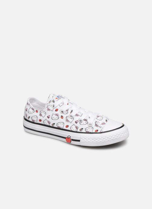 c56b9eca320e4 Sneaker Converse Converse x Hello Kitty - Ctas Ox K rot detaillierte ansicht  modell