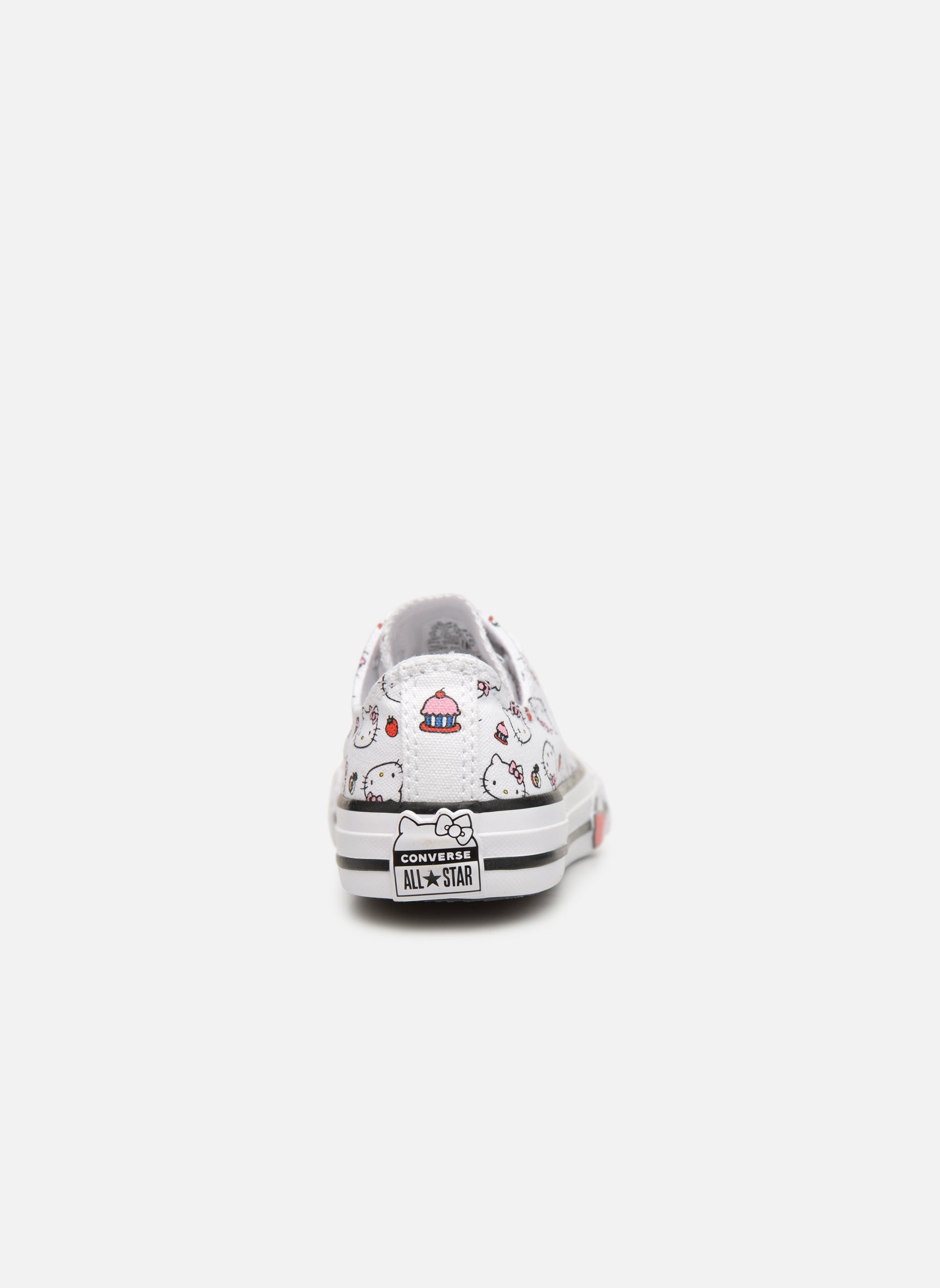 Baskets Converse Converse x Hello Kitty - Ctas Ox K Rouge vue droite
