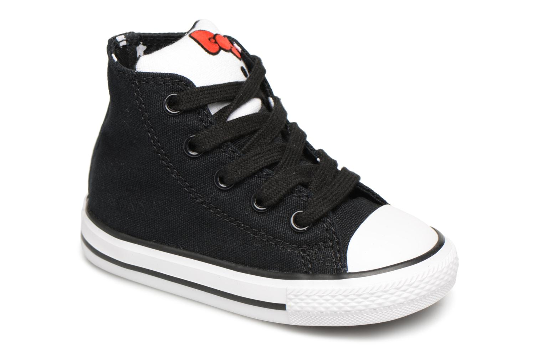 Baskets Converse Converse x Hello Kitty - Ctas Hi Noir vue détail/paire