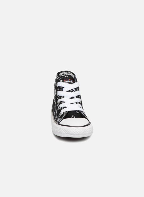 Baskets Converse Converse x Hello Kitty - Ctas Ox Rouge vue portées chaussures