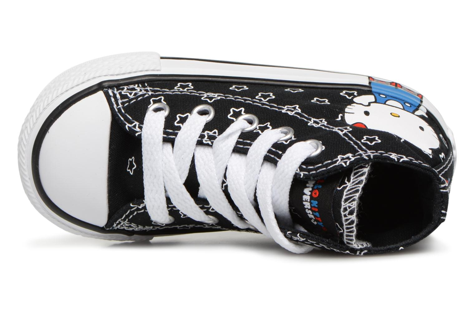 Baskets Converse Converse x Hello Kitty - Ctas Ox Rouge vue gauche