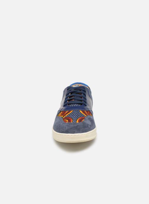 Baskets Panafrica Sahara M Bleu vue portées chaussures