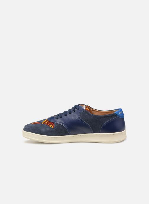 Trainers Panafrica Sahara M Blue front view