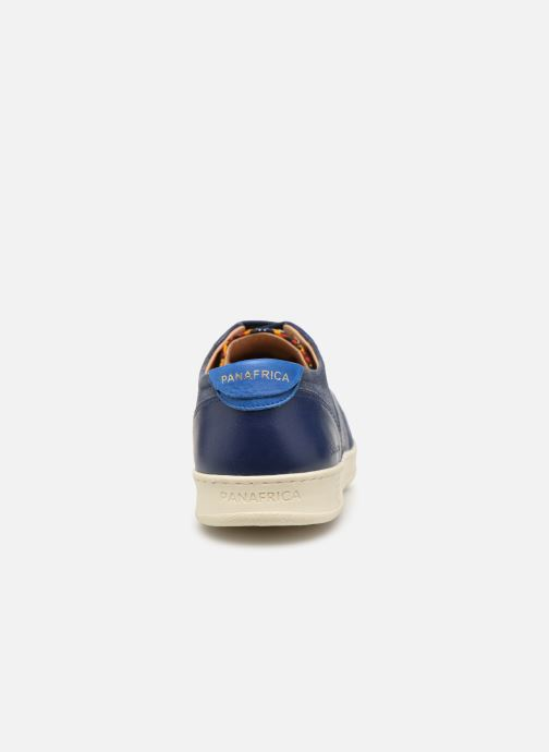 Baskets Panafrica Sahara M Bleu vue droite
