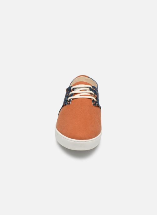 Baskets Panafrica Alize M Orange vue portées chaussures