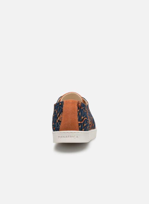 Baskets Panafrica Alize M Orange vue droite