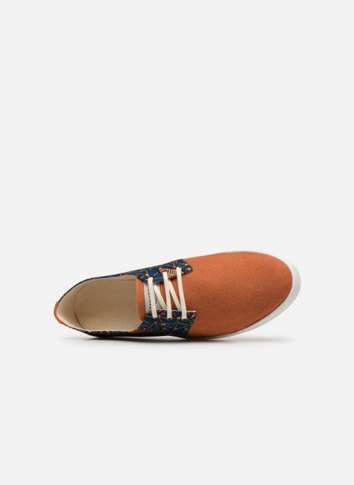 Baskets Panafrica Alize M Orange vue gauche