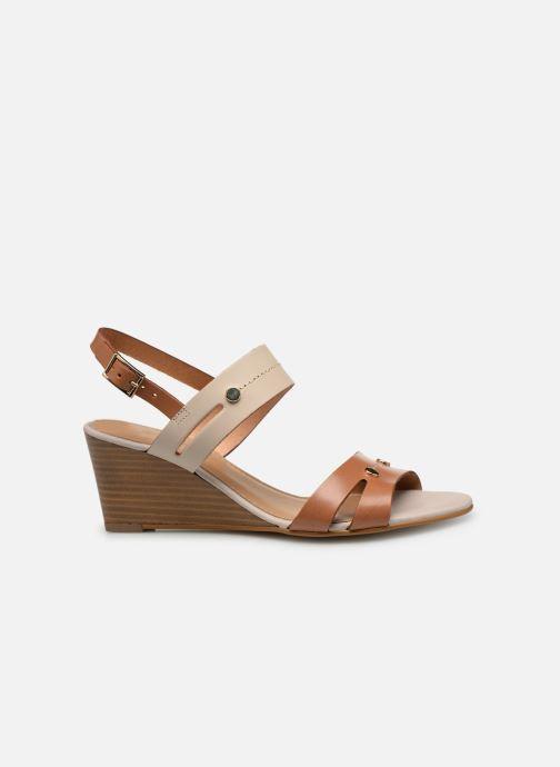 Sandales et nu-pieds Georgia Rose Lorean Marron vue derrière