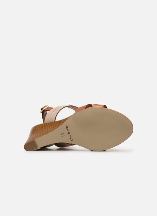 Sandales et nu-pieds Georgia Rose Lorean Marron vue haut