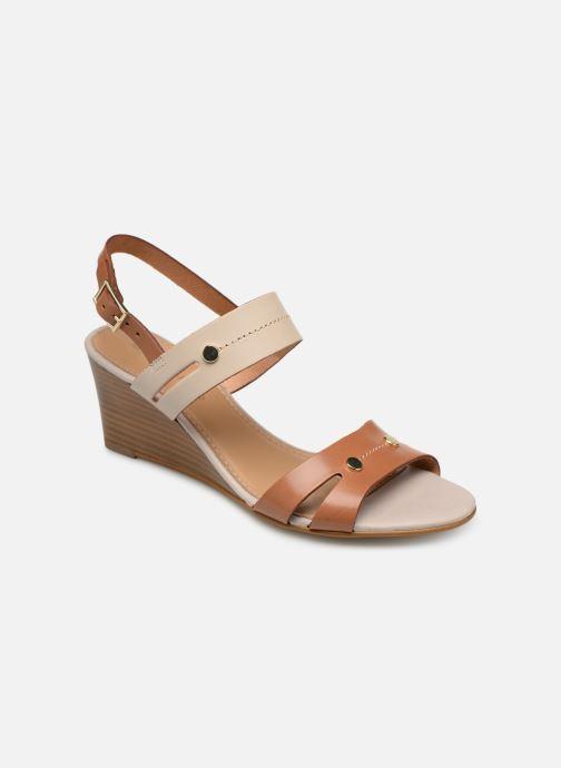 Sandales et nu-pieds Georgia Rose Lorean Marron vue détail/paire