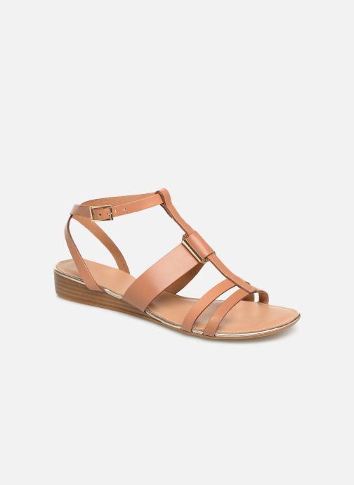 Sandales et nu-pieds Georgia Rose Loriane Marron vue détail/paire