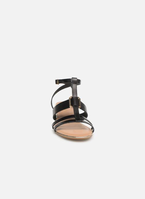Sandales et nu-pieds Georgia Rose Loriane Noir vue portées chaussures