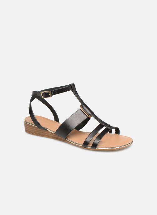 Sandales et nu-pieds Georgia Rose Loriane Noir vue détail/paire