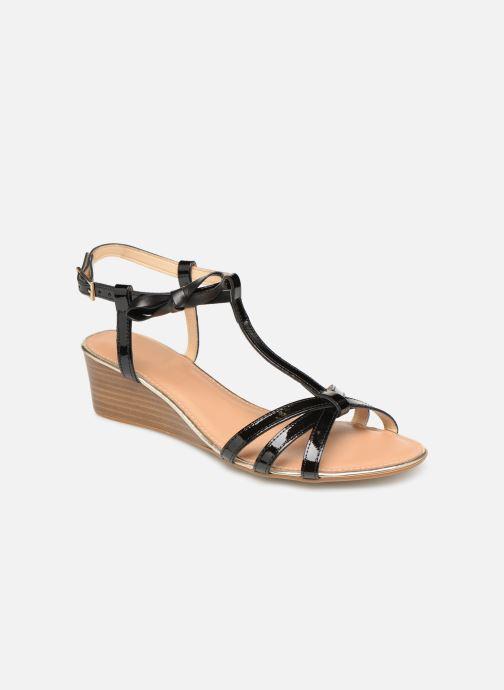 Sandaler Georgia Rose Lobow Sort detaljeret billede af skoene