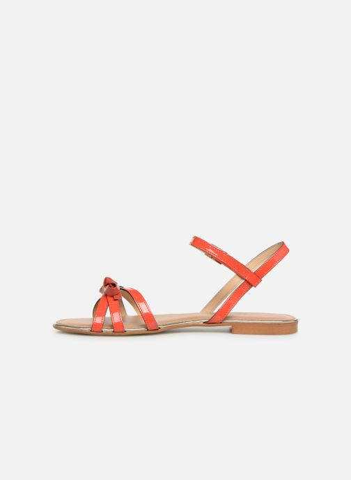 Sandales et nu-pieds Georgia Rose Lonoua Orange vue face