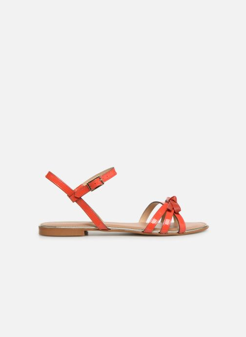 Sandales et nu-pieds Georgia Rose Lonoua Orange vue derrière
