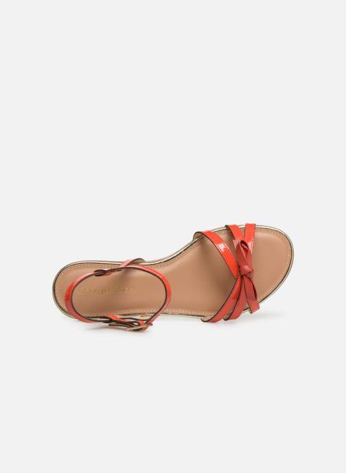 Sandales et nu-pieds Georgia Rose Lonoua Orange vue gauche