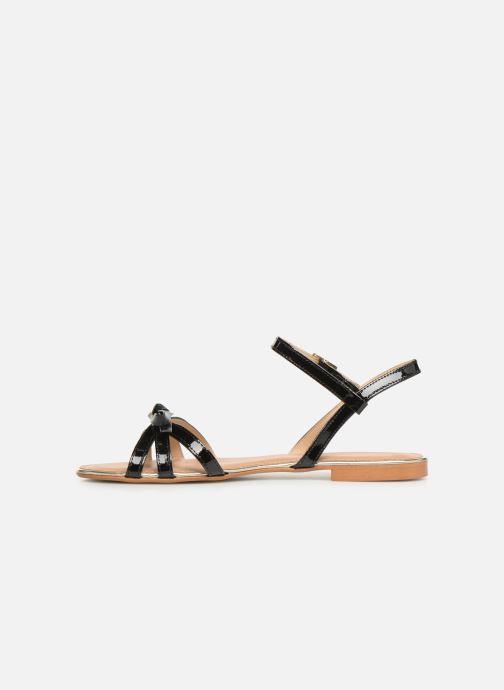 Sandales et nu-pieds Georgia Rose Lonoua Noir vue face