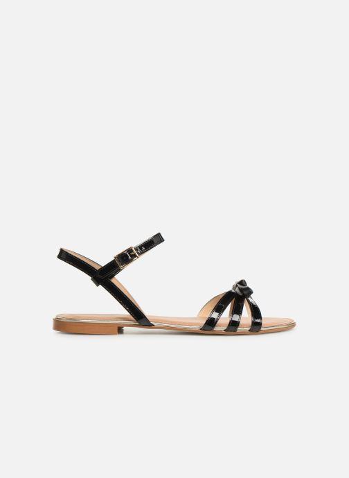 Sandales et nu-pieds Georgia Rose Lonoua Noir vue derrière