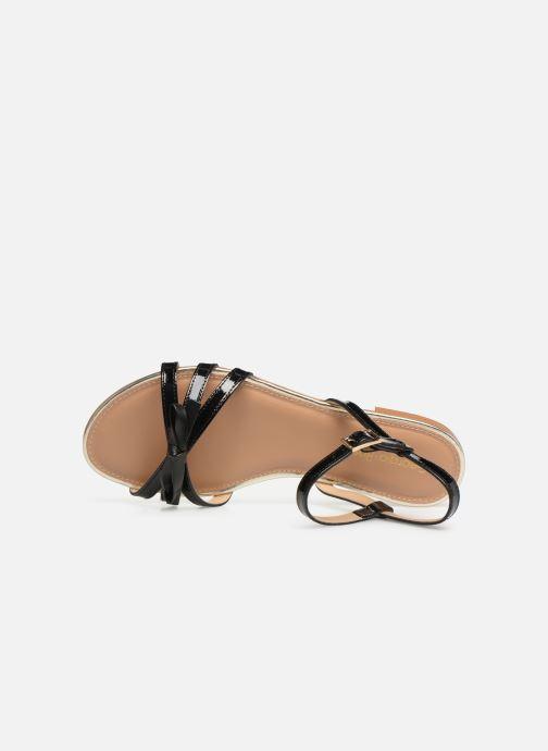 Sandales et nu-pieds Georgia Rose Lonoua Noir vue gauche
