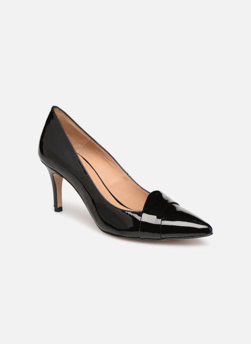 High heels Georgia Rose Ayala Black detailed view/ Pair view
